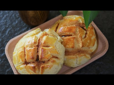 Homemade HK Style Pineapple Bun [菠萝包]