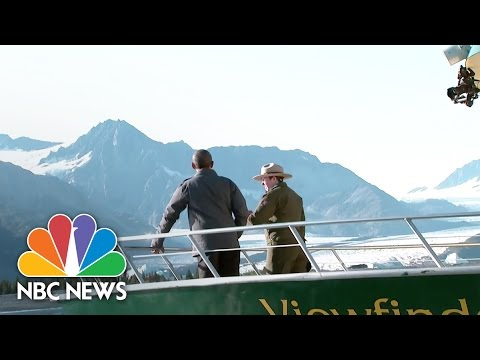 Obama Witnesses Climate Change in Remote Alaskan Towns   Short Take   NBC News
