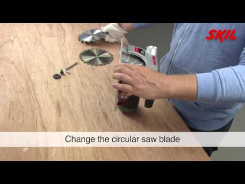 How to change a circular saw blade?