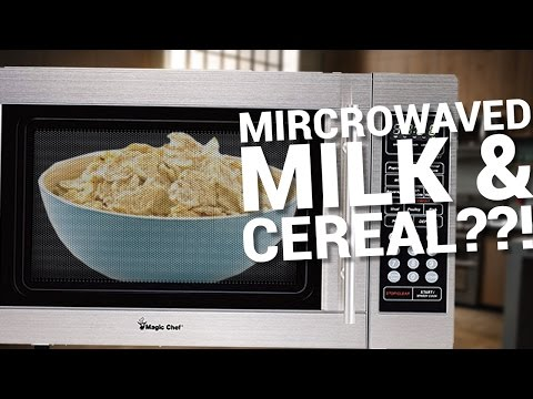 MICROWAVING MY CEREAL AND MILK???