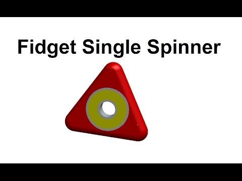 How to Make Fidget Single Spinner