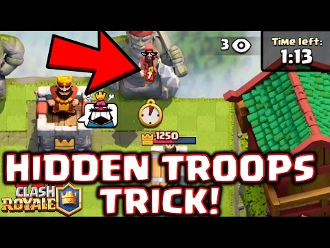 Clash Royale - Is this Cheating!? *Covert Troop Deployment*