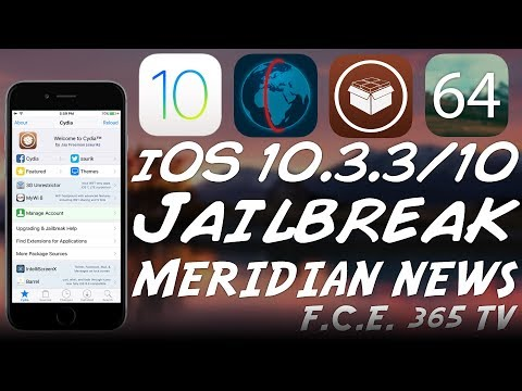 iOS 10.3.3/10.x Meridian Jailbreak News | Should You Update To 11.3.1?