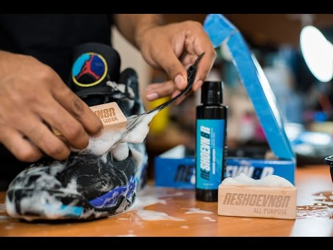 Restorations with Vick - Air Jordan Aqua 8 Deep Cleaning & Midsole Repaint