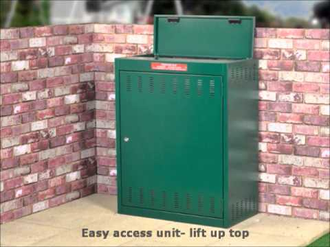 Gas bottle storage: small