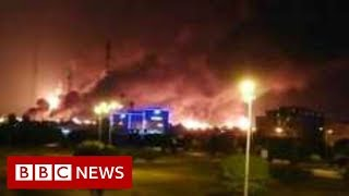 Saudi oil attacks: US says intelligence shows Iran involved - BBC News