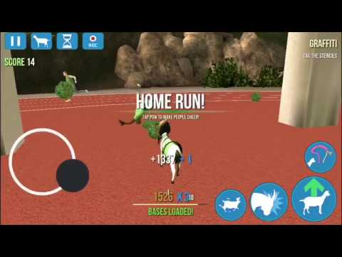how to unlock cheer goat in goat simulator (IOS/ANDROID)