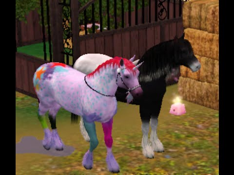 My sims 3 Horses Foals