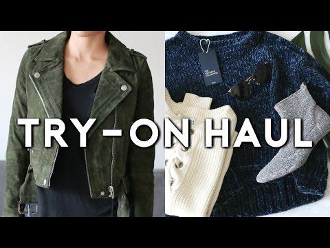 TRY-ON HAUL! Zara, Nordstrom, Steve Madden, Urban Outfitters