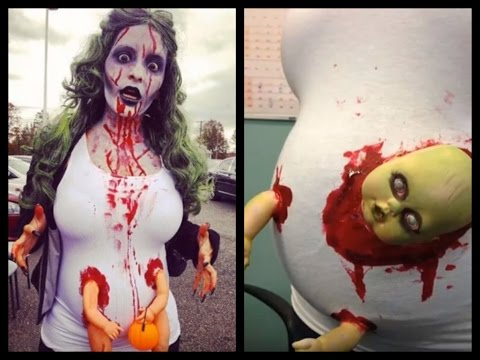 DIY Halloween Costumes for Pregnant Moms