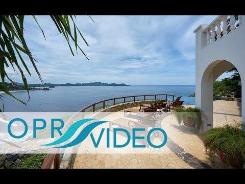 Casa de Oro - Hilltop Ocean View Mansion on the north ridge of Playa Flamingo, Costa Rica