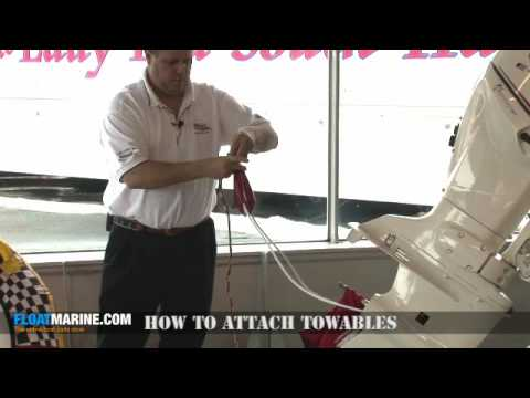 Boat Parts - How To Attach Towables.