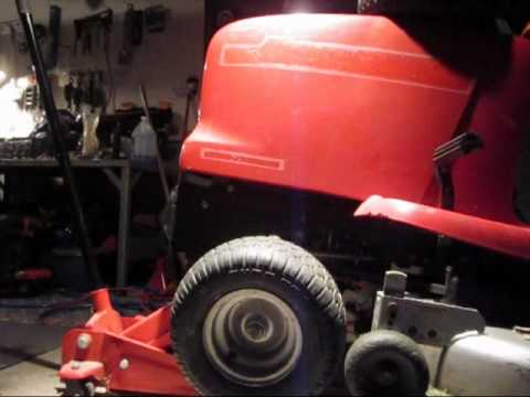 How to replace front Honda mower bearings