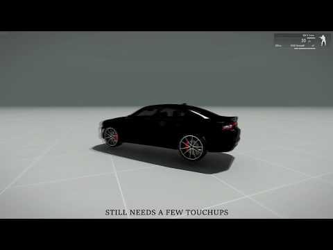 Arma3 - Car Import Development - Timelapse