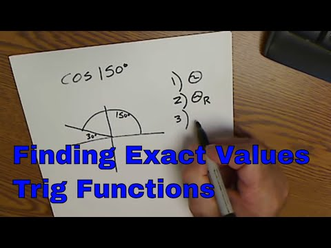 Finding Exact Values of Trig Functions