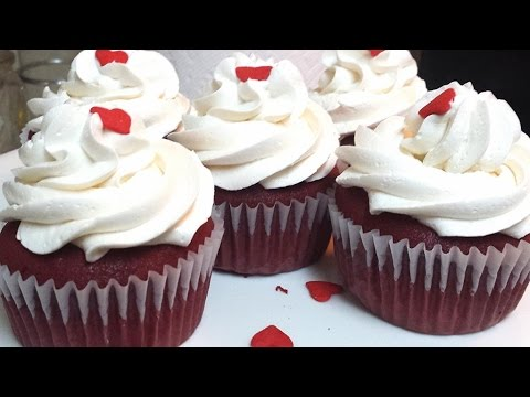 How To Make Red Velvet Cupcakes -Moist red velvet cupcakes recipe- Cesy Can Cook