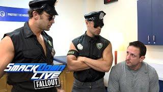 "A bit of cappuccino sends ""officers"" Breezango into a frenzy: SmackDown LIVE Fallout, Nov. 1, 2016"