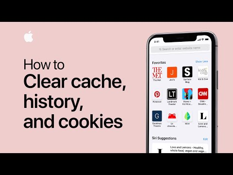 How to clear cache, cookies and history on your iPhone or iPad — Apple Support