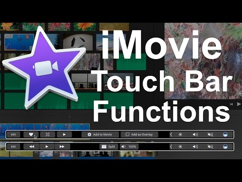 iMovie 10.1.3+ Touch Bar Functions Tutorial