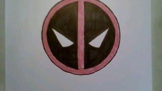 Handmade Pixel Art How To Draw Deadpool Logo Pixelart El Ii