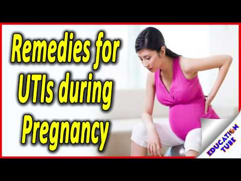 Remedies for utis during pregnancy