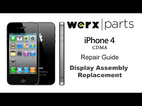 iPhone 4 CDMA Screen Replacement