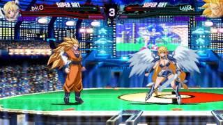 Mugen 1 1] Super3 Goku vs Asutorea - Vidly xyz