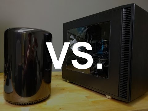 $2,000 Custom PC vs $4,000 Mac Pro
