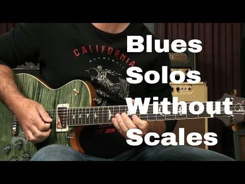 Blues Guitar Lesson How To Solo For Beginners With NO Scales Or Licks!