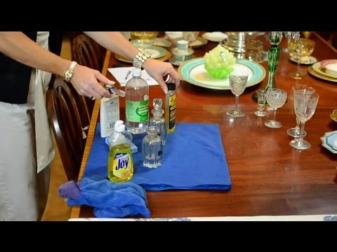 How to Clean Rust From Glass : Antique Glassware, Pottery & More