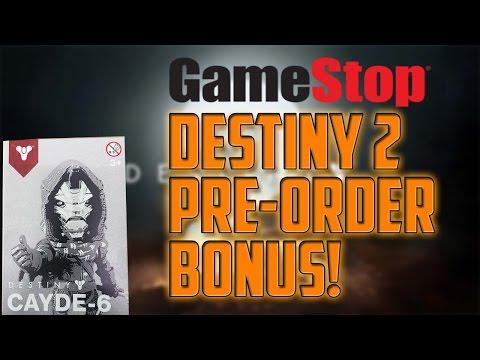 GameStop Exclusive Destiny 2 Pre-Order Bonus!