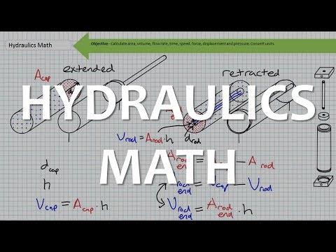 Hydraulics Math
