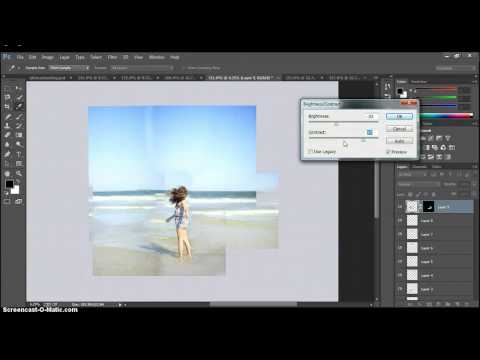 How to make a photo bigger in Photoshop