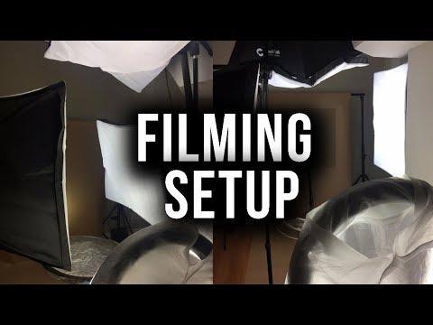 Affordable Youtube Setup + Equipment for Videos (Lights, Camera, Backdrops) | Annesha Adams