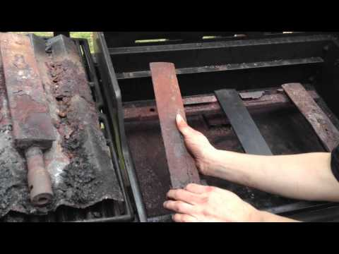 Gas Grill Repair - Replace Grill Burner - Cast Iron