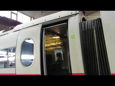 Traveling from Dusseldorf Germany to Amsterdam Netherlands on ICE - Intercity Express 1