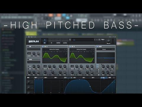 High Pitched Bass - Serum Tutorial