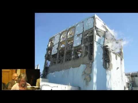 Rik, Kick Nuclear - Remember Fukushima - Houses of Parliament - 10 03 14, with slides