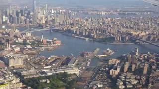 Landing in LaGuardia LGA New York
