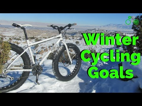 Winter Cycling Tips & Goals / Bonus-- Free Cycling Exercises