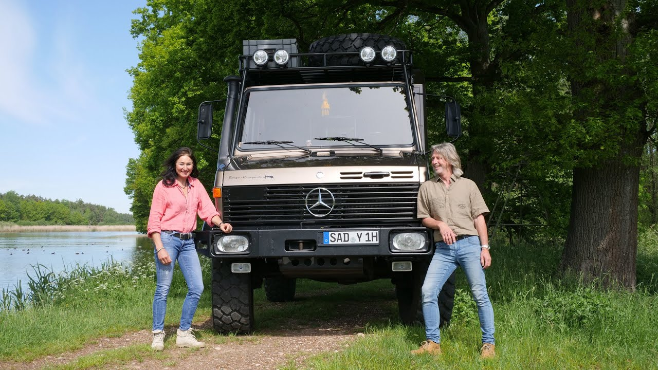 Unimog 1300 L the way to the expedition vehicle   Part II