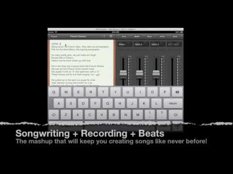 Songwriter's Pad Multitrack Studio for iPhone & iPad | Songwriting App