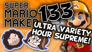 Super Mario Maker: A Most Confusing Pickle - PART 133 - Game Grumps