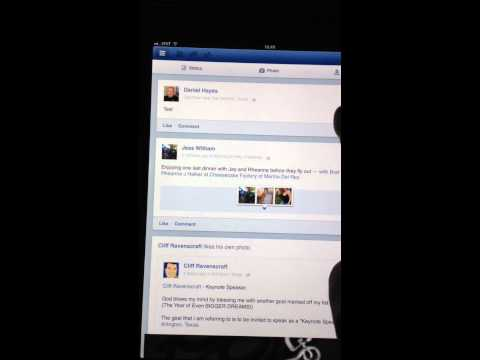 Delete a Facebook Post on iPhone or iPad Update