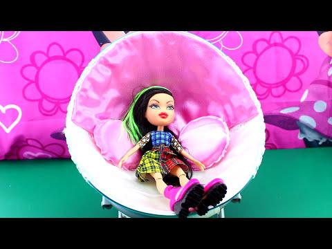 💗 DIY Doll Chair {using a broken bowl} I DarlingDolls DIY