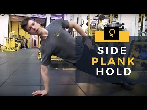 5EW Exercise: Side Plank Hold