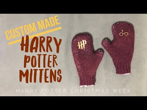 How To Make Harry Potter Mittens!!!