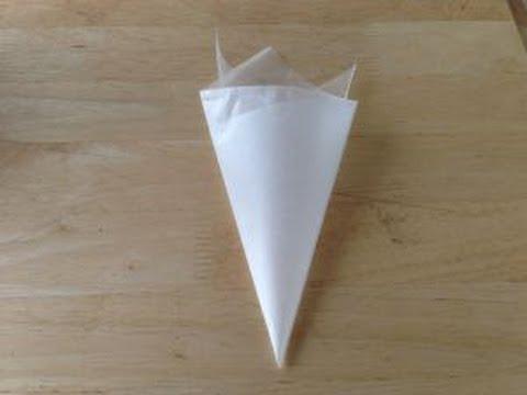 Wax paper piping bag✔️