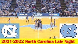 North Carolina Blue-White Game Highlights, 2021-2022 North Carolina Basketball Late Night
