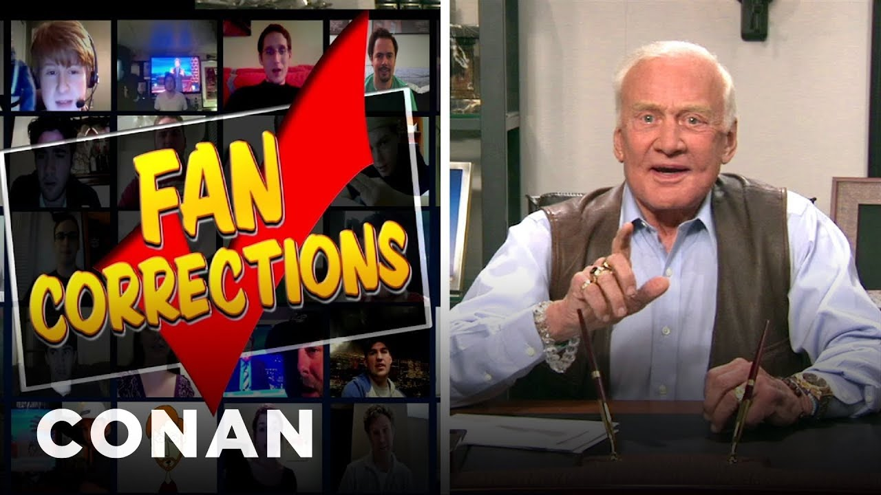 Fan Correction: Buzz Aldrin Admits To History's Greatest Prank